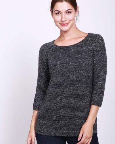 Серый пуловер из мохера Pezzo