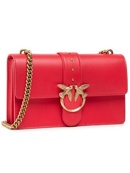 Klasyczna torebka - czerwona Pinko