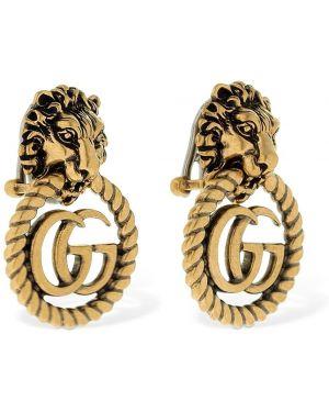 Kolczyki ze sztyftem kolczyki pierścionki zabytkowe Gucci