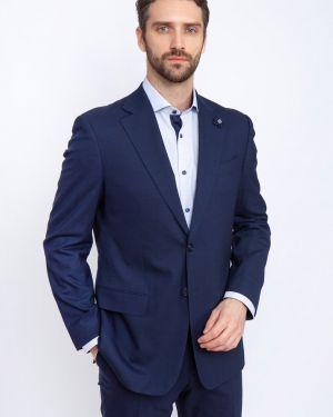 Классический пиджак прямой шерстяной канцлер