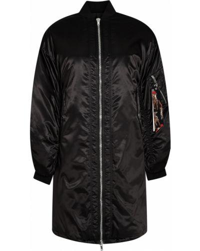 Длинная куртка с воротником стойкой Msgm