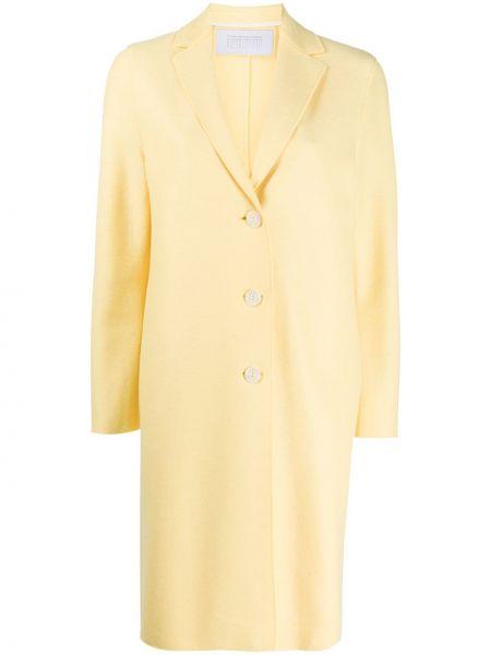 Пальто на кнопках кокон Harris Wharf London