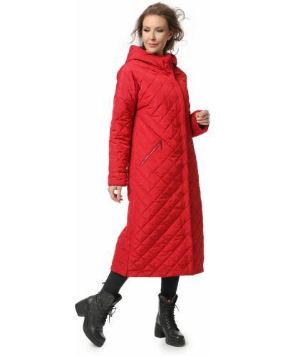 Прямое длинное пальто с капюшоном с воротником Dizzyway