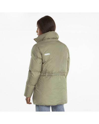 Дутая куртка - бежевая Puma