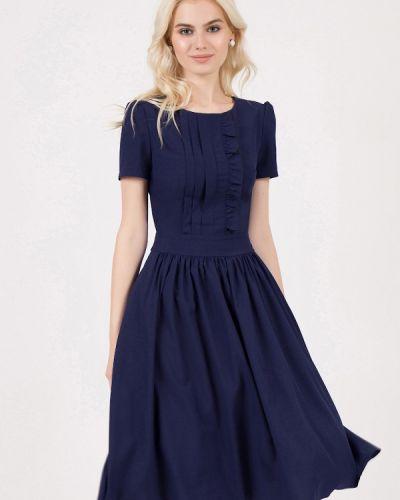 Летнее платье синее Marichuell