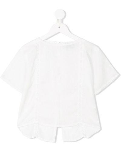Блуза белая на пуговицах Tocotò Vintage