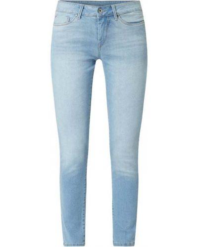 Niebieskie jeansy bawełniane Pepe Jeans