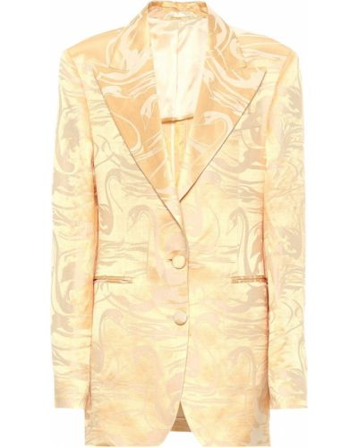 Пиджак льняной шелковый Acne Studios