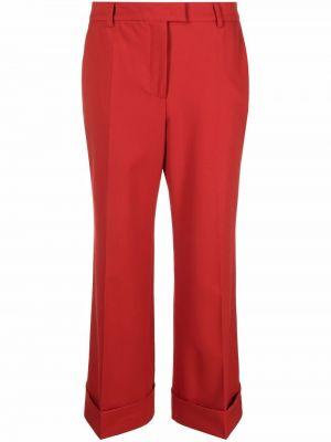 Укороченные брюки - красные Alberto Biani