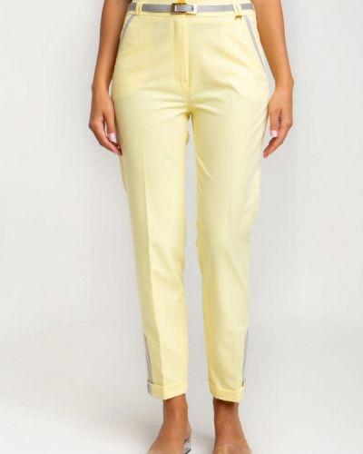 Желтые классические брюки Das