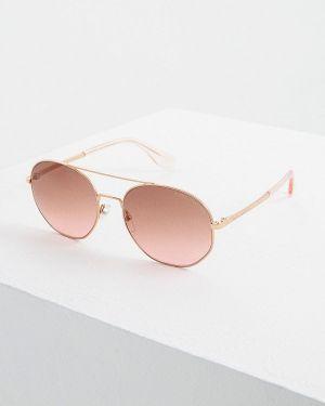 Очки авиаторы солнцезащитные золотой Marc Jacobs