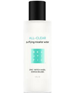Мицеллярная вода кожаный очищающий Beautific
