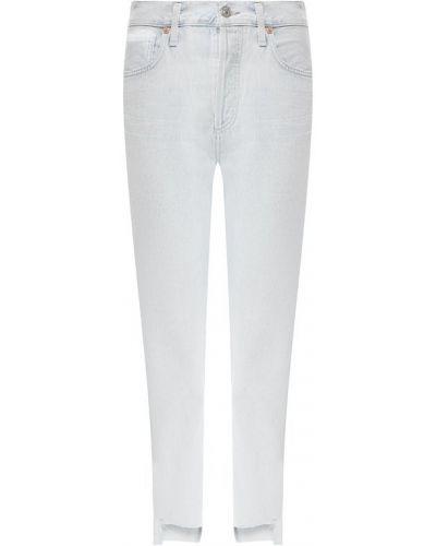 Укороченные джинсы с эффектом потертости Citizens Of Humanity