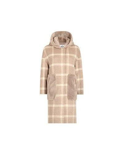 Коричневое пальто Diego M