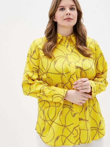 Желтая рубашка Lauren Ralph Lauren Woman