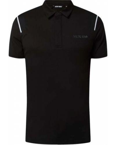 Czarna koszulka bawełniana Antony Morato