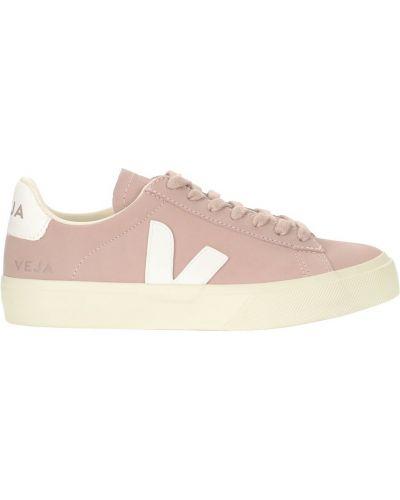 Różowe sneakersy Veja