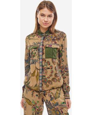 Куртка с цветочным принтом облегченная Desigual