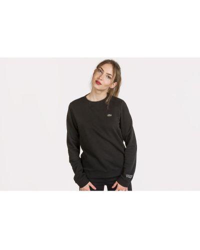 Czarna bluza bawełniana Lacoste
