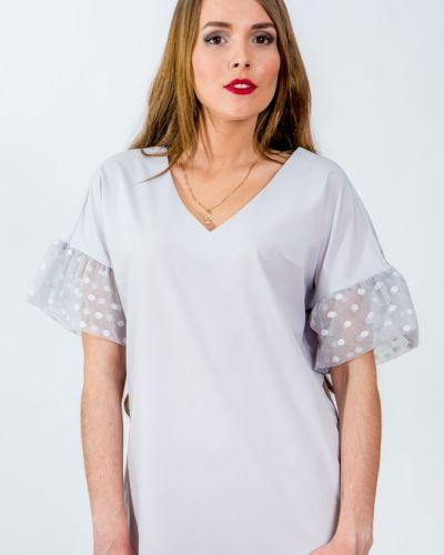 Блузка сетка в горошек Belirini