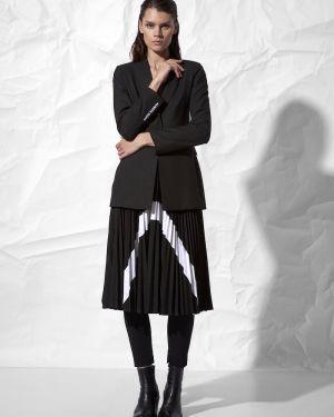 Плиссированная юбка с завышенной талией из вискозы Vassa&co