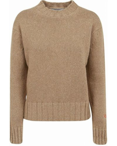 Sweter - beżowy Victoria Beckham