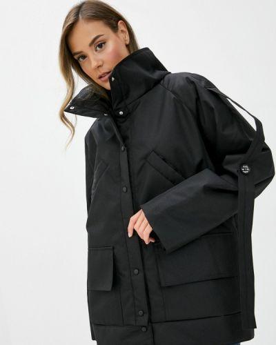Черная теплая куртка Be Main