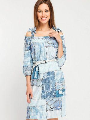 Платье - голубое Giulia Rossi