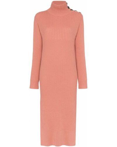 Платье мини розовое миди See By Chloé