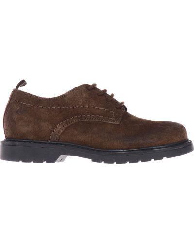 Туфли коричневый замшевый Naturino