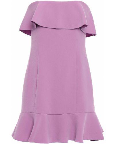 Fioletowa sukienka mini Rachel Zoe