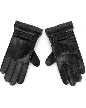 Rękawiczki czarny Lasocki