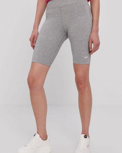 Szare szorty bawełniane Nike Sportswear