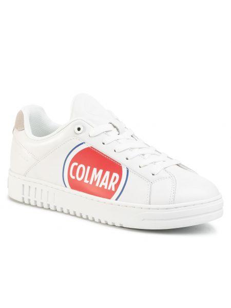 Białe półbuty casual Colmar