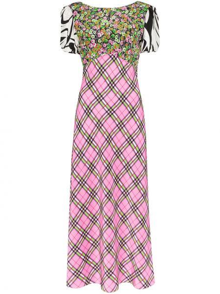 Летнее платье миди в полоску Rixo