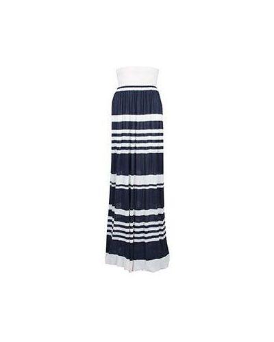 Синяя юбка макси Marina Yachting