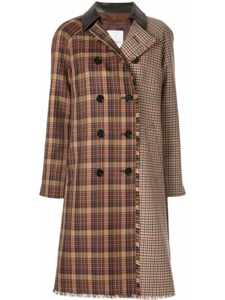 Пальто с капюшоном с бахромой Loveless