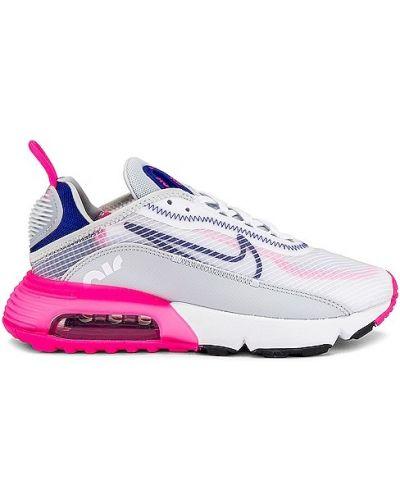 Czarny sneakersy z siatką zasznurować siatkowaty Nike