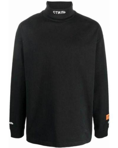 Czarny sweter Heron Preston