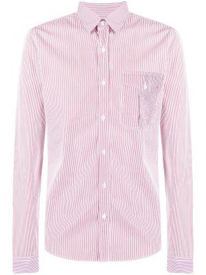 Klasyczna koszula bawełniana w paski z długimi rękawami Gucci