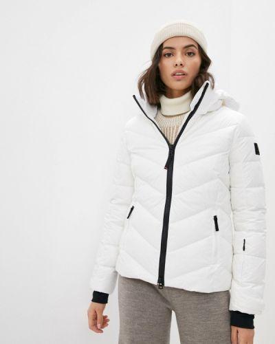 Белая куртка горнолыжная Bogner