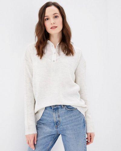 Белый пуловер Fresh Brand