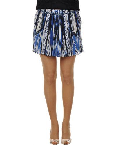 Синяя юбка Roberto Cavalli