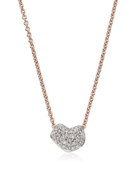 Ожерелье - розовое Monica Vinader