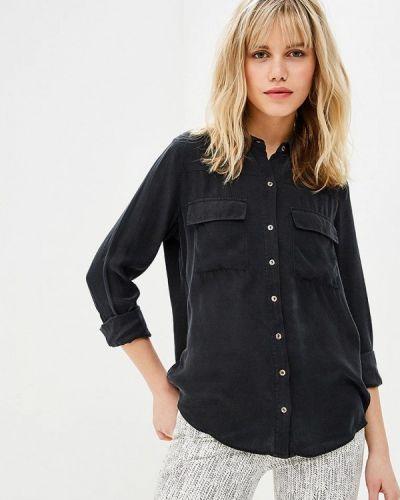 Блузка с длинным рукавом черная Sack's
