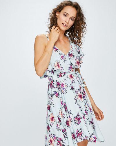 Платье мини расклешенное из вискозы Answear