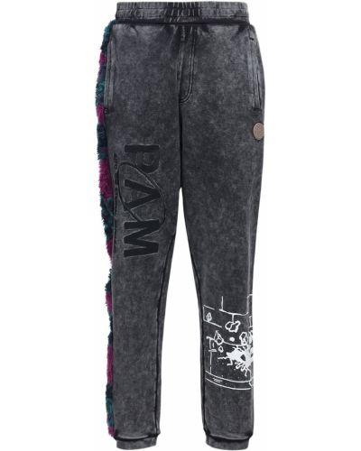 Czarne joggery bawełniane vintage P.a.m. Perks And Mini