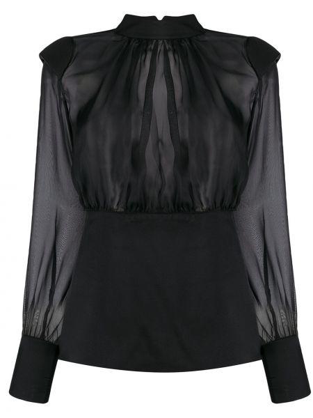 Блузка с воротником-стойкой батник Federica Tosi
