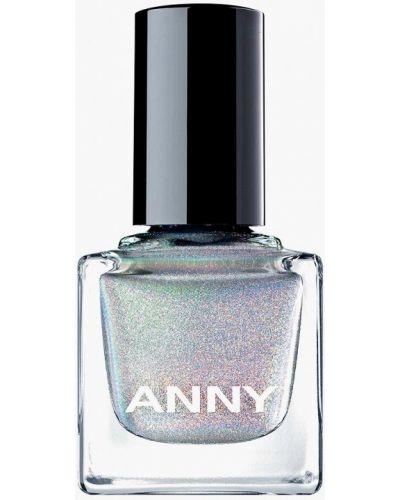 Лак для ногтей осенний серебряный Anny