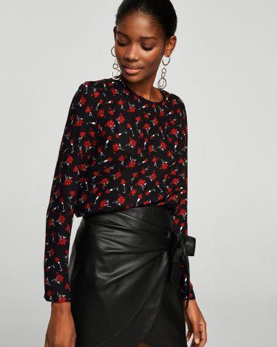 Блузка прямая с рюшами Mango